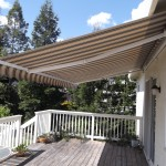 Sacramento retractable awning