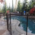 Pool Guard Remvoable Pool Fence from Folsom Lake Fence Company