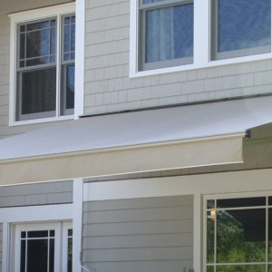 Durasol Retractable Awning – 7'8' Projection – Tweed ...