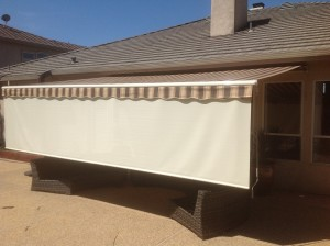 Awning w Front Drop