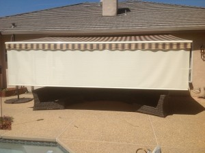 resized awning extended with front drop