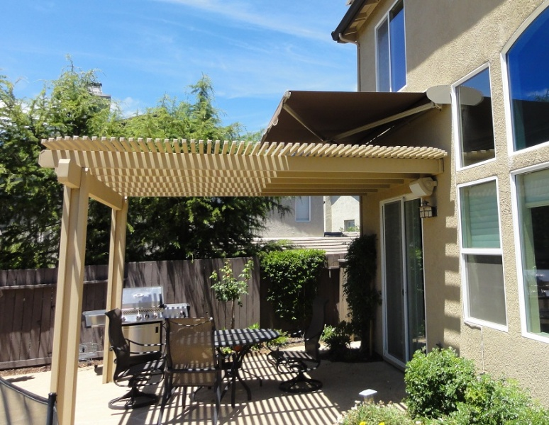Awning Over Patio Cover 3