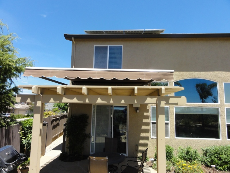 retractable awnings granite bay manual automatic awnings