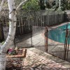 removable pool fence bronze 4 section