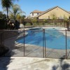 removable pool fence bronze 5